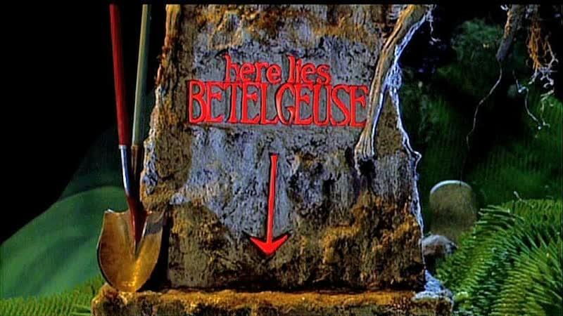 Битлджюс Битлджус Beetlejuice Beetle Juice 1988 Перевод Алексей Михалев Комедия фэнтези