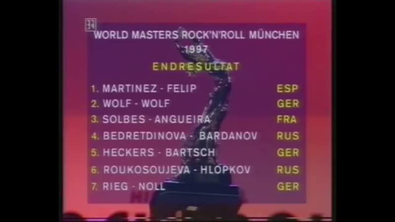 1997 RnR World Masters München