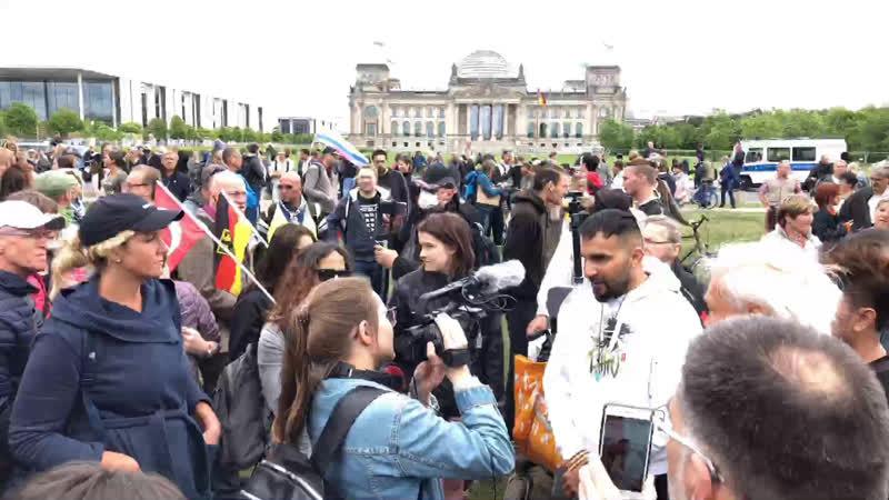 COVID 19 - Rund um den Reichstag - Corona Ermächtigungen als Mittel zum Zweck - 30.05.20