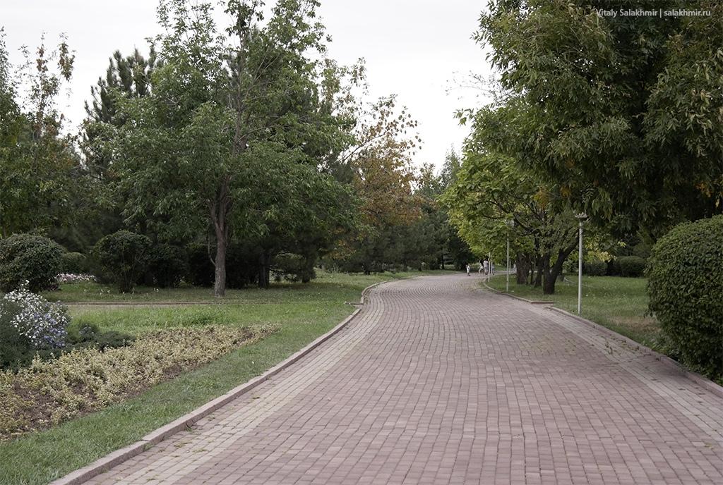 Прогулки по аллеям Парка Первого Президента, Алматы 2019