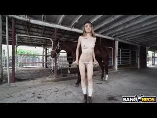 BangBros18 19 12 10 Kristy May - Kristy May Rides A Stallion