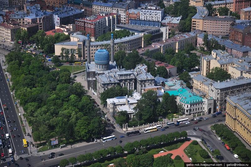 Санкт-Петербург с высоты птичьего полета