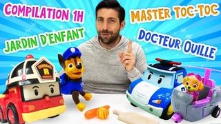 Compilation 1h30 pour enfants Jardin denfant Master Toc Toc Docteur Ouille