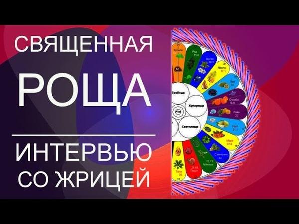 Священная Роща - интервью Олега Сармата со жрицей Священной Рощи, Алёной Андрейко. Священная Роща.