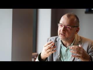 #СмотриДома - анонс интервью с Олегом Даутовым ()