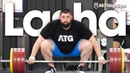 Lasha Talakhadze - Strongest Man in the World 207kg Snatch 250kg Clean Jerk Session