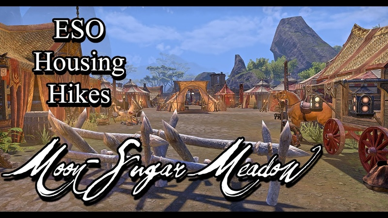 ESO Housing Hikes Casual Ranger's Moon Sugar Meadow