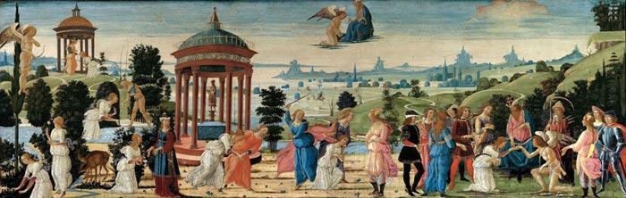 Якопо дель Селлайо (1441-1493), История Купидона и Психеи, Музей Фицвильям, Университет Камбридж