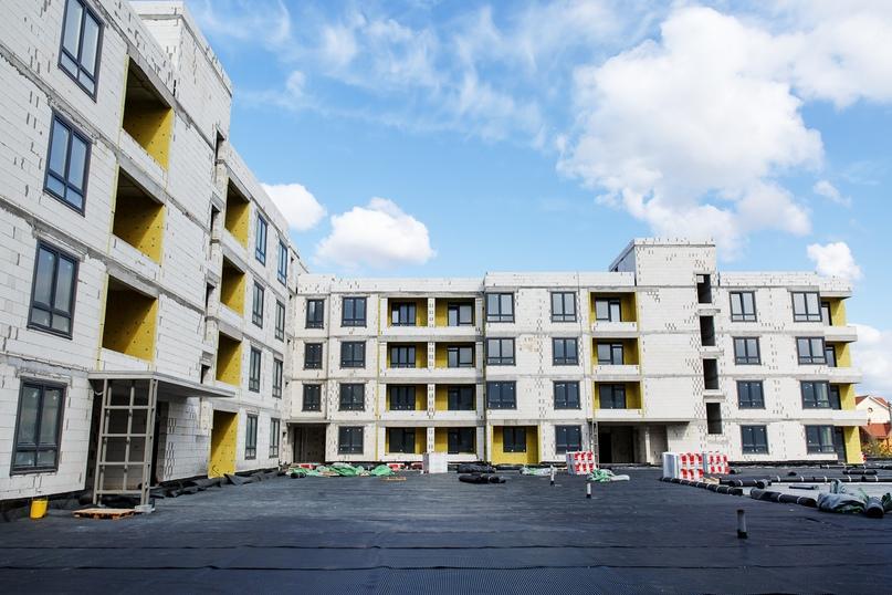 Отчет о ходе строительства апрель 2020 ЖК «Ожогино», изображение №9
