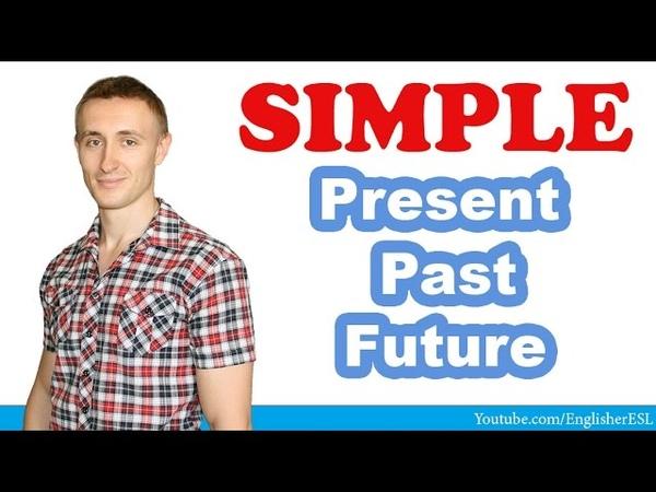 Времена группы SIMPLE (INDEFINITE): Present / Past / Future.