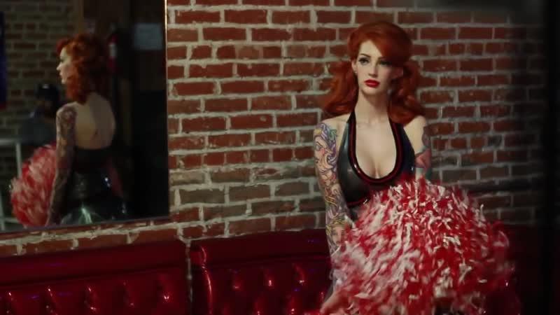 Vanessa Lake Latex Costumes Photoshoot