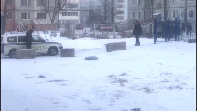 ЧОПовцы устроили стрельбу на территории детского сада