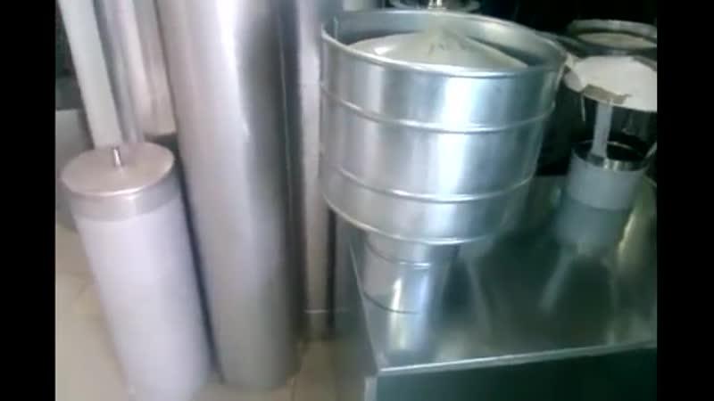 Дефлектор грибок флюгер для дымохода ВидеоОбзор