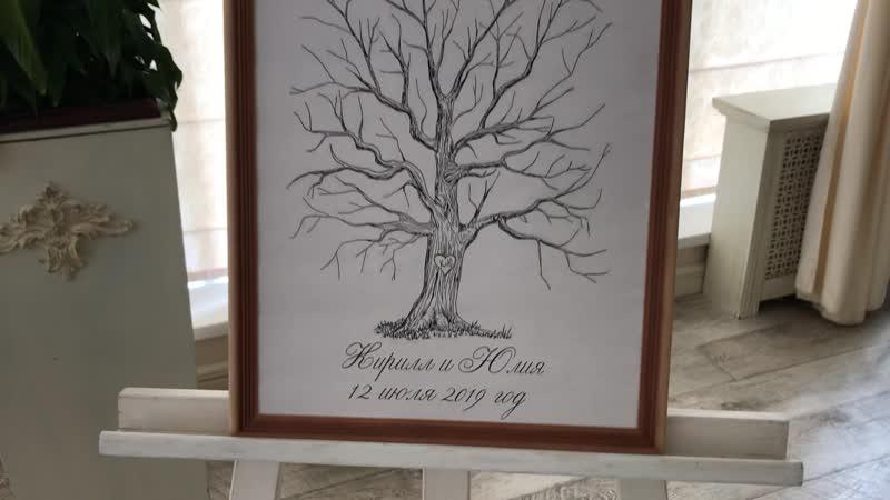 свадебное семейное древо