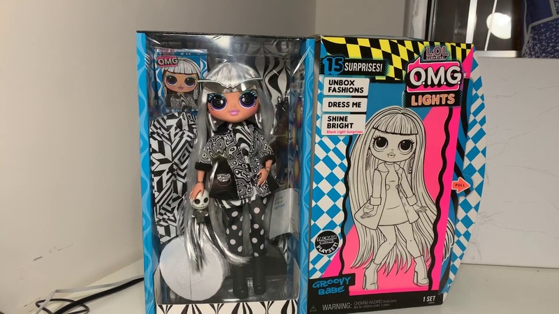 NEW RELEASE Long waited Groovy Baby LOL NEON LIGHTS DOLL!😍😍😍