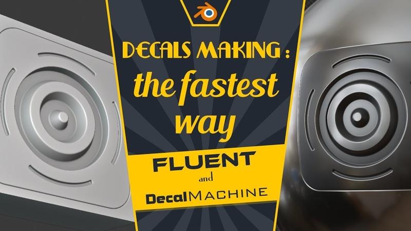 [FR] Decals making : the fastest way - Blender tutorial