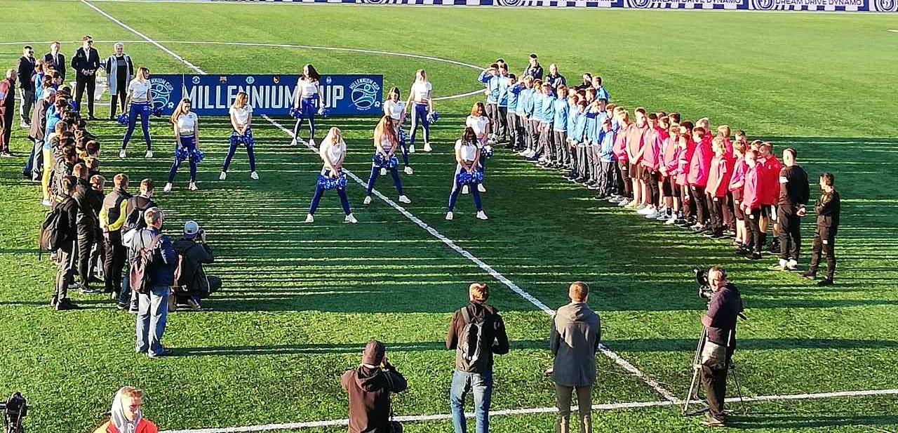 «Барселона» разгромила брестское «Динамо» в финале турнира Millennium Cup