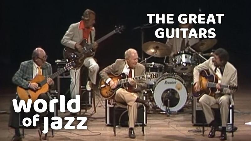 The Great Guitars Barney Kessel Charlie Byrd and Herb Ellis • 11 07 1982 • World of Jazz