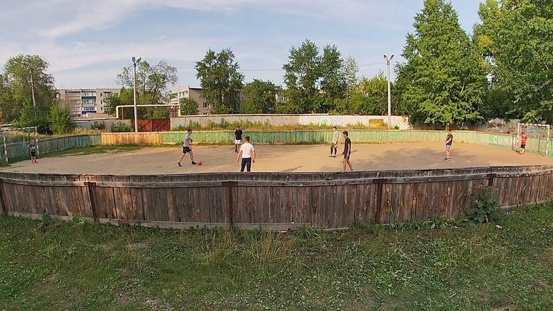 Мини футбол на Школе интернате №17 17 августа 2019