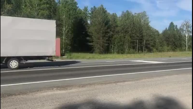 Пешеходные переходы на трассе М5 оборудуют шумовой разметкой