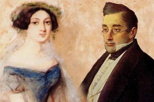 Бракосочетание Александра Грибоедова и Нины Чавчавадзе 3 сентября1828 года в Сионском соборе в Тифлисе (ныне город Тбилиси) состоялось бракосочетание Александра Грибоедова и 15-летней Нины