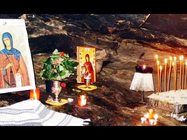 Sfânta Teodora de la Sihla Saint Theodora of Sihla Neamt County Moldova Romania