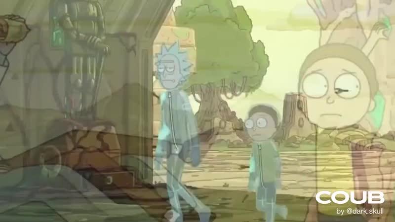 Безумие продолжается Рик и Морти 4 сезон Трейлер Kongos Come With Me Now