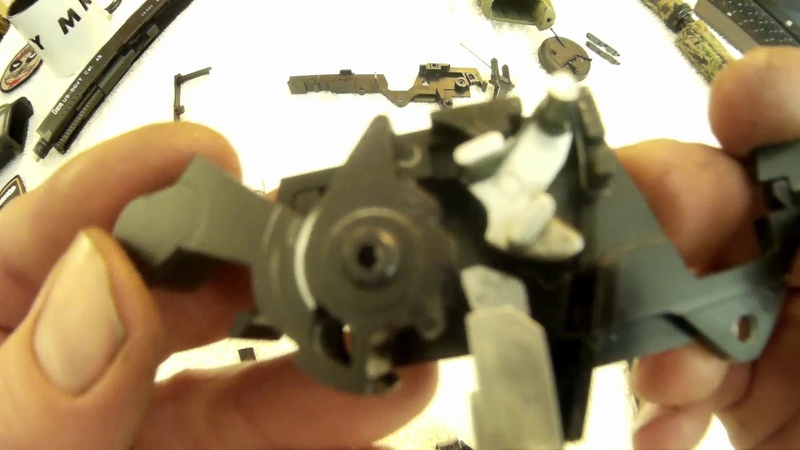 Full guide for a smooth silent trigger on the Airsoft MK23 NBB Pistol