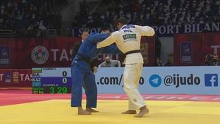 81 кг: Ivaylo Ivanov (BUL) vs. Дидар Хамза (KAZ)