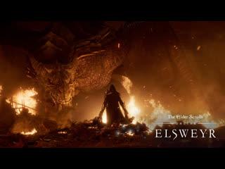 The elder scrolls online: elsweyr — официальный видеоролик e3