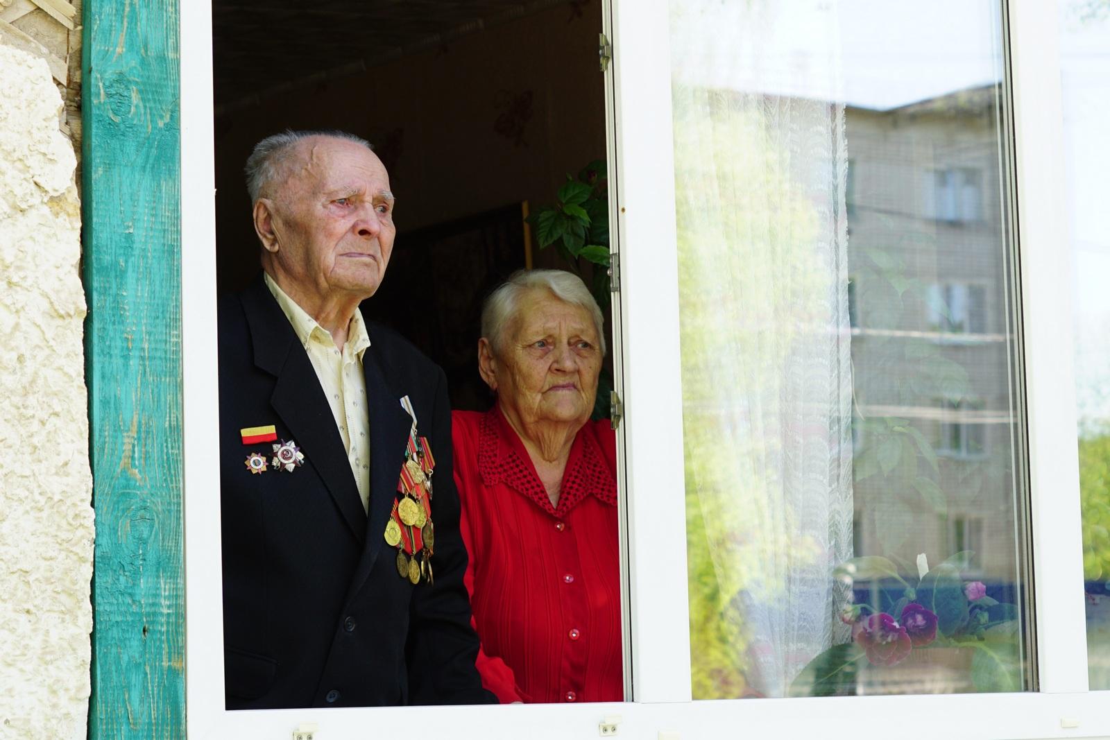 акция для ветеранов, чайковский район, 2020 год