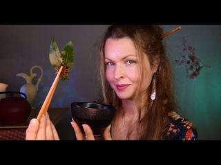 ASMR FRANÇAIS 🌙⭐ ROLEPLAY JAPONAIS ~ japonaise (cérémonie du thé, tea ceremony, japanese) + MASSAGE