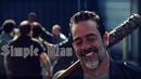 The Walking Dead Negan Simple Man