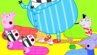 Peppa Pig Official Channel | Peppa Pig's Big Sleepover Party