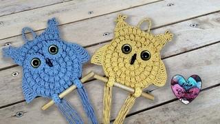 Hiboux Crochet Tendance Lidia Crochet Tricot En español