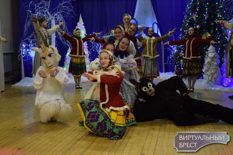 В ГУО «Гимназия №3 г.Бреста» состоялся рождественский вечер