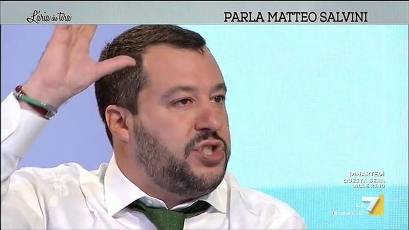Salvini: 'C'è puzza di guerra. Italia esca dalla NATO'
