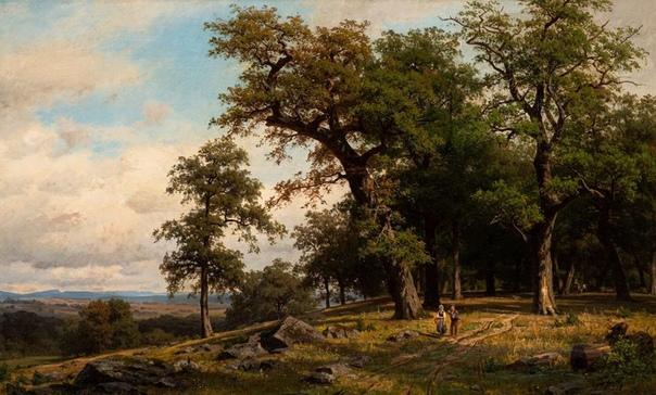 Фриц Эбель (нем. Fritz Ebel; 21 апреля 1835 1895, Дюссельдорф) немецкий художник-пейзажист. Известен, как певец немецкого леса. Особой популярностью пользовались пейзажи с видами Альпийских гор,