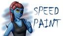 Undertale — Undyne [speedpaint]