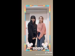 [SNS] 200126 Kim Lip, Jinsoul – Happy Lunar New Year 2020  TikTok