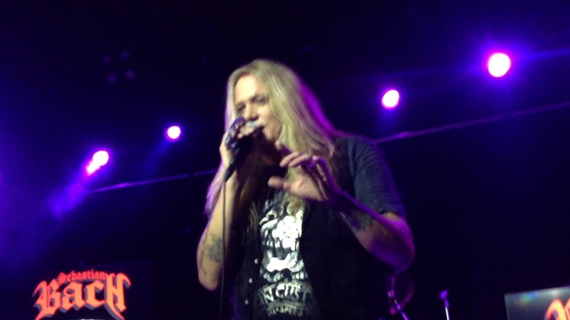 Sebastian Bach - Can't Stand the Heartache - Charlotte, NC 8/31/19