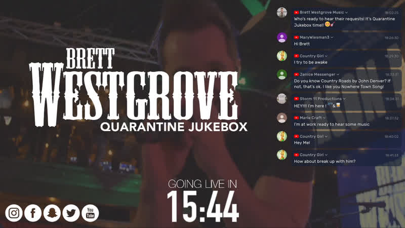 Quarantine Jukebox Playing YOUR requests