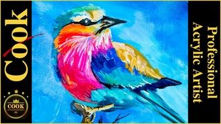 11 Acrylic Paintings in under Eight hours  Marathon Quarantine Quickie #46 with Ginger Cook