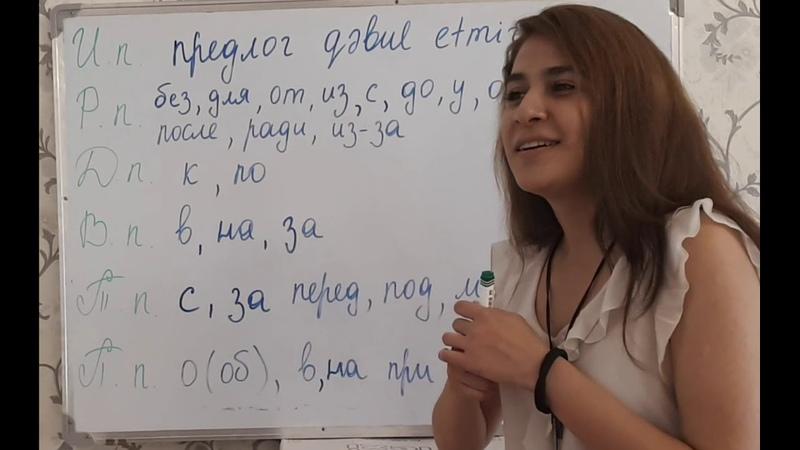 Падежи имён существительных 2 ая часть Ismin halları 2 ci hissə