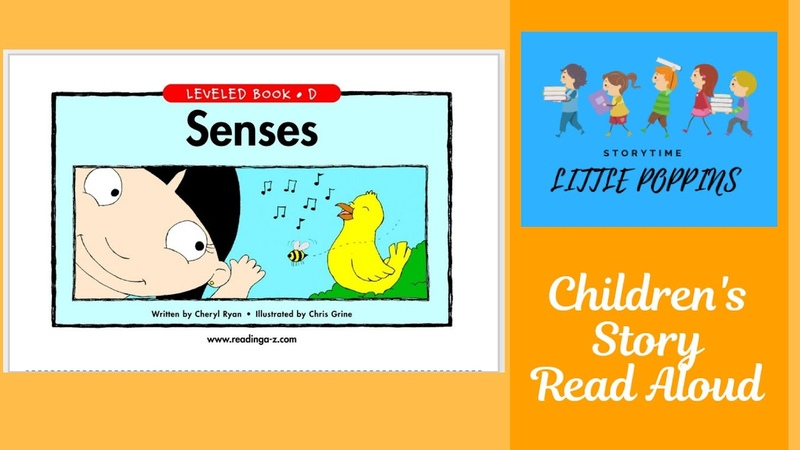 Senses  Kindergarten Short Stories   Level D   Children's Books Read Aloud