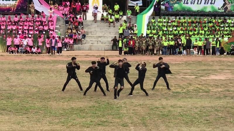 CHANGE cover BTS FAKE LOVE NOT TODAY @งานกรีฑาโรงเรียนอุบลรัตนราชกั 3597