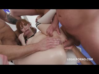 Double Fucking in the Gym. Alexa Nova & Dominica Phoenix anal battle with Balls Deep Anal DAP Gapes Anal Fist GIO625568