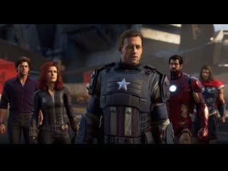 Мстители: День Мстителей - первый трейлер игры