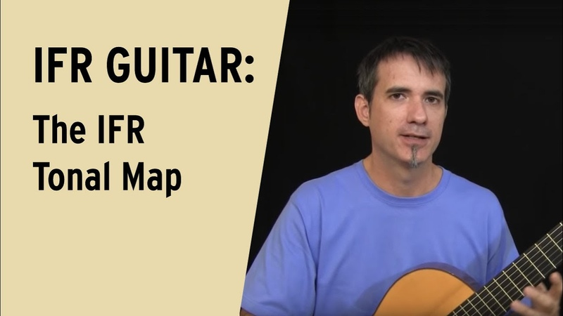 Master the fretboard with the IFR Tonal Map