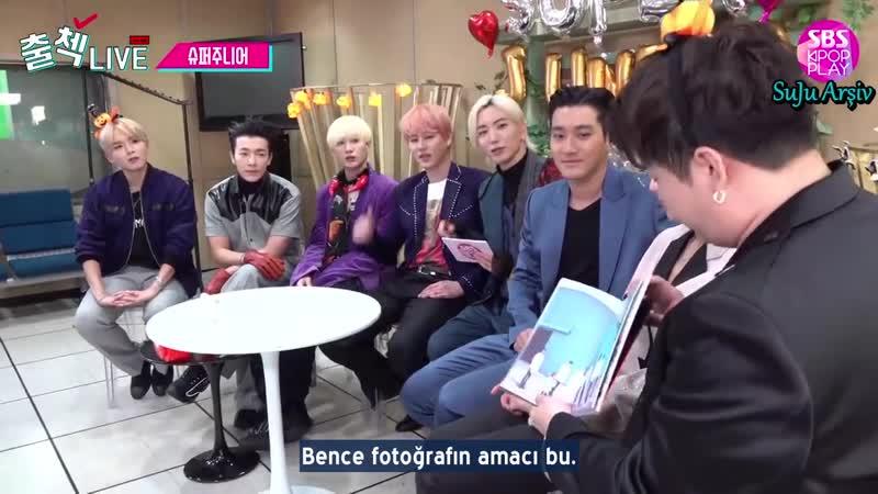 191027 SBS Kpop Play Inkigayo Check-in Live - Super Junior 1. Kısım (Türkçe Altyazılı)